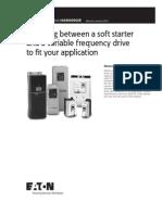 Eaton Soft Starter vs Vfd