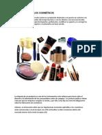 El etiquetado de los productos cosmeticos