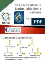 IEQ-602 - Parte 5 - Ácidos Carboxílicos e Derivados, Aldeídos e Cetonas