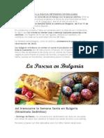 La Pascua Ortodoxa en Bulgaria