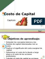 Capitulo 9 Costo de Capital
