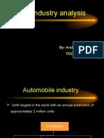 Auto Industry Analysis