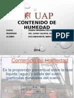 CONTENIDO DE HUMEDAD - EXPO.ppt