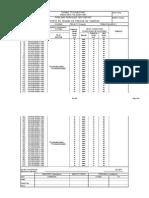 Pipe Lines Pressure Test Report