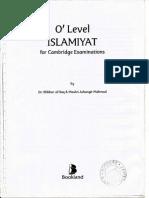 Gce o Level Mathematics Formula Booklet