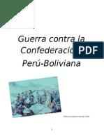 Guerra Contra La Confederación Perú Boliviana