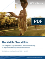 The Middle Class at Risk