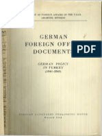 (Milli Şefin Alman Ajanlığı) 1948 - German Policy in Turkey (1941-1943)