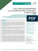 Haemodialysis access