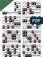 Cartones Bingo