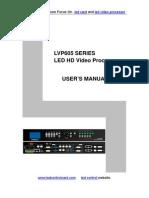 LVP605 Series User s Manual ENG
