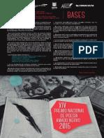 Convocatoria Nacional de Poesía Amado Nervo 2015