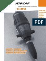 Dosatron-D14 US Manual