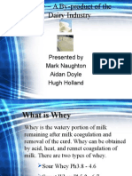 Whey – a by-product of the Dairy Industry (1)