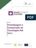 QREN SmartCP Prototipagem e Comparação de Tecnologias RIA Vol1 1.1
