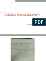 violent risk assessment (cheryl chase july 24 2015)