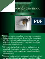 La Observación Científica (Metodologia)