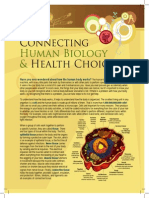 Connecting Human Biology and Health Choices