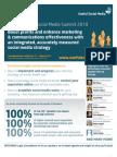 The Corporate Social Media Summit 2010 brochure