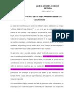 Paradigmas vs Realidad Politica Colombiana.. Act 6