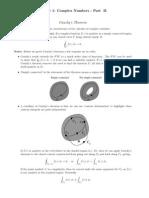 Cauchy's Theorem
