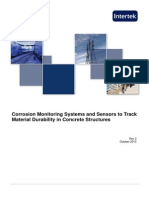 Corrosion Monitoring Systems and Sensors to Track