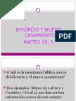 DIVORCIO Y NUEVO CASAMIENTO.ppt