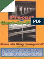 Precast vs Cast in Place