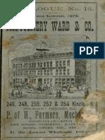 Montgomery Ward Catalog 1875
