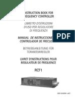 Variador de Frecuencia RCF 1 Wittur.