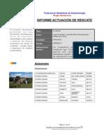 FME INFORME RESCATE INTIMACHAY SEPTIEMBRE 2014