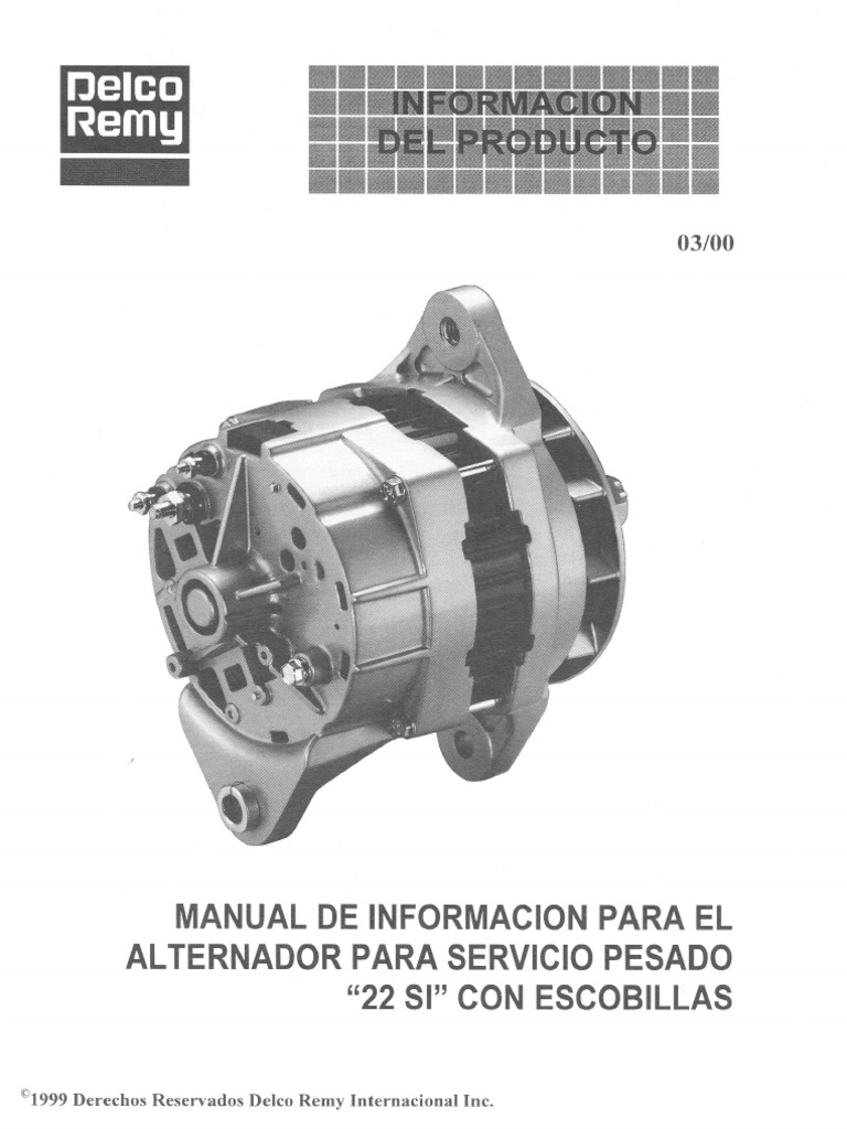 delco remy alternador rh pt scribd com manual de alternator delco remy manual de alternator delco remy