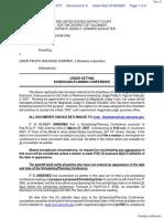 Bell v. Union Pacific Railroad - Document No. 8