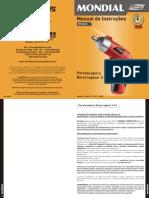Manual parafusadeira FPF-02 - pt-BR