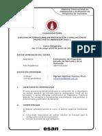 Sílabus Esan 2015 - Estudio de Mercado y de La Demanda