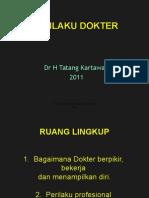 PERILAKU DOKTER