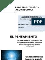 El Concepto en El Diseño y La Arquitectura
