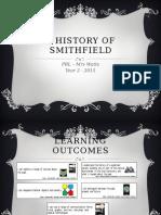 history of smithfield weebly