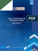 Tema I- Estrategias de Microestructura