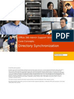 Office 365 Admin Support Skills - Core Concepts 05 Directory Synchronization - Participant Guide