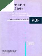 De Sousa Santos Boaventura - De La Mano de Alicia - Lo Social Y Lo Politico en La Posmodernidad
