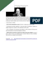 5 Consejos de Umberto Eco Para El Oficio de Escritor