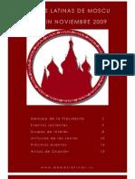 Boletín Noviembre 2009