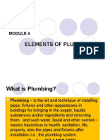 Module 4elementsofplumbing