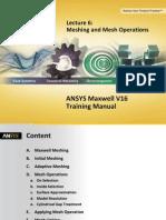 Maxwell v16 L06 Mesh Operations