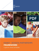 family-school partnerships framework