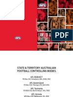 2015 Laws of Aust Football