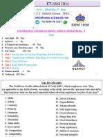 Et 8 Fo Bsc 1st Sem Unit 1 2 3 4 5 QP 2015