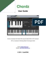 Chordz User Guide