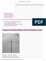 Typical Constructions of Overhead Lines _ EEP